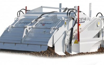 Mounted soil stabilizer: ROTOSTAB 330