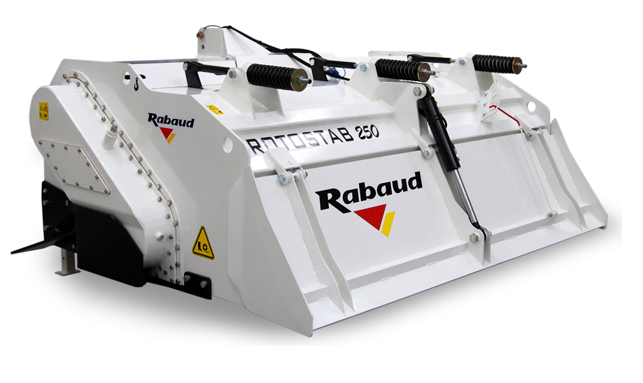 Mounted soil stabilizer: ROTOSTAB 250